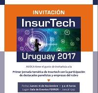 Invitación INSURTECH Uruguay 2017.